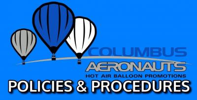 hot air balloon rides policies procedures