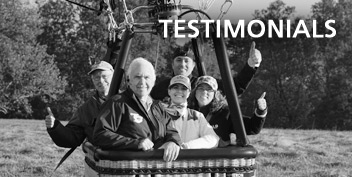 hot air balloon ride testimonials