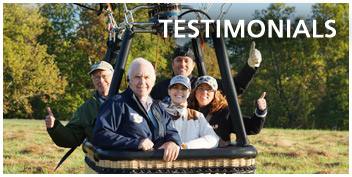 hot air balloon ride ohio testimonials